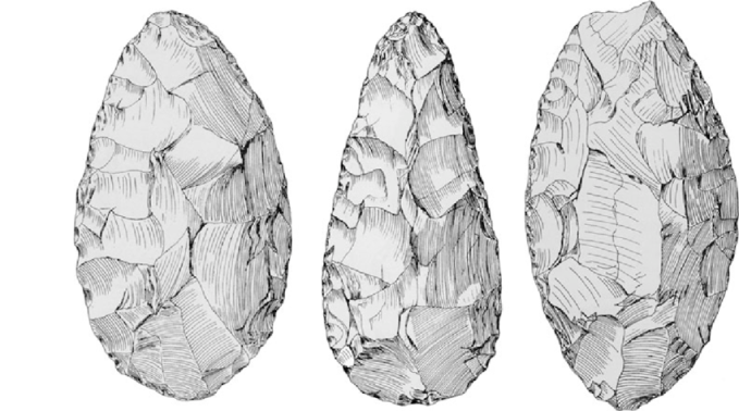 Examples-of-symmetrical-well-crafted-African-handaxes-These-are-from-Kalambo-Falls-in